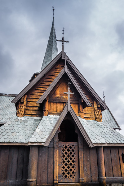 Hedal Stave Church, near Aurdal, Norway