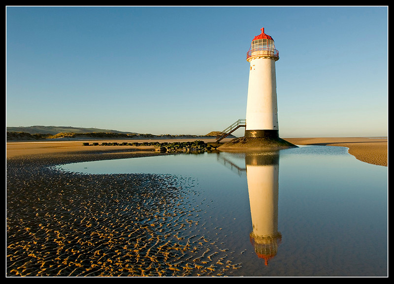 Point of Ayr Lighthouse, Talacre,North Wales