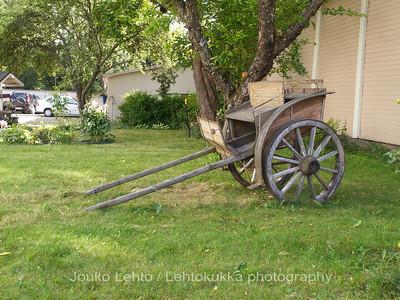 Old Rauma: Old wheels