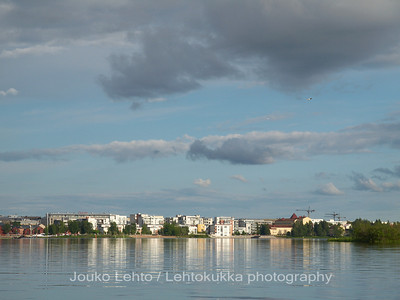 Oulu from the sea