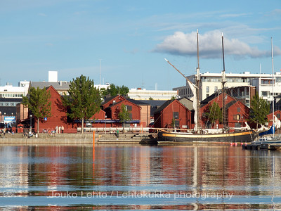 Oulu (Finland) from the Sea