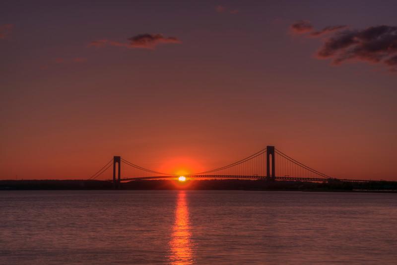 Verrazano Sunset