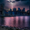 Lightning, Manhattan Skyline