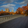 Looking Across Bow Bridge, Central Park