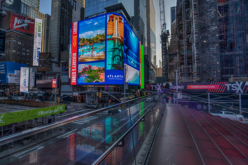 Atlantis Sign, Times Square