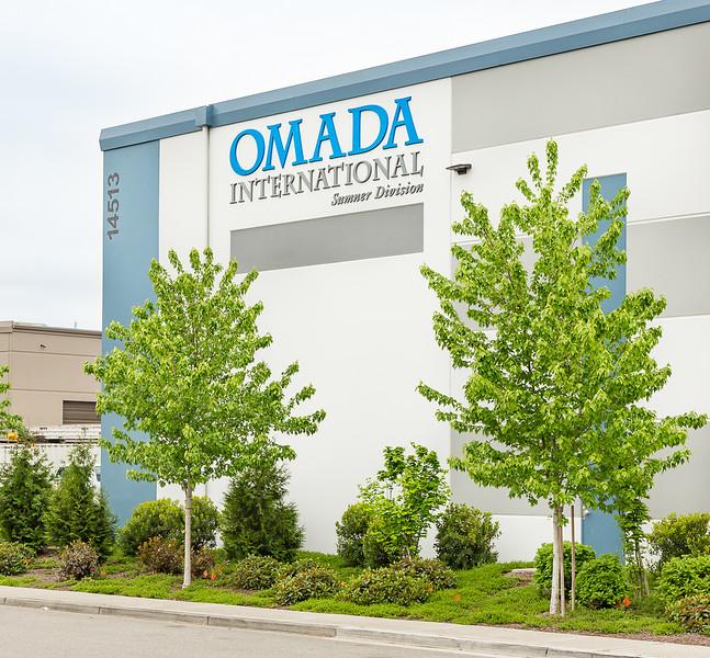 OMADA International headquarters building.