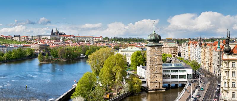 Pražský hrad - panorama