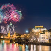 Prague New Year's Fireworks 2018