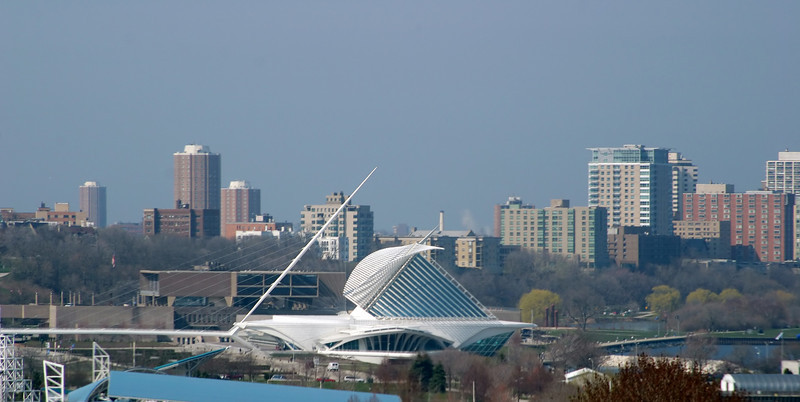 2004 Milwaukee, Hoan Bridge, Milwaukee Art Museum, Downtown