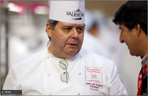 José Luis Godoy President of Professional Center of chefs of Buenos Aires, Argentina. Executive Chef of