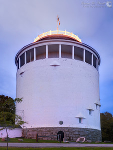 Exterior of Thomas Hill Standpipe