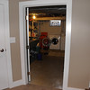 New doorway to the laundry room