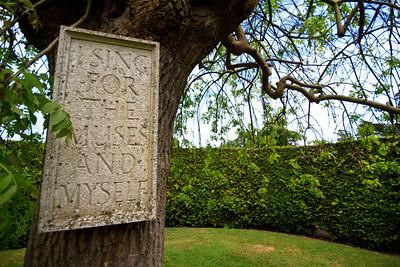 Stockwood park - the Improvement Garden - Ian Hamilton Finlay