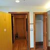 Front door and closet