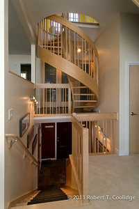 Entryway, Stairs and Elevator