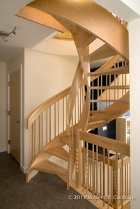 Spiral Stair to Lighthouse Room