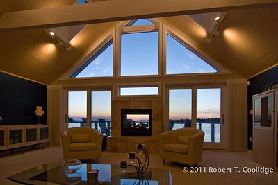 Living Room at Dusk