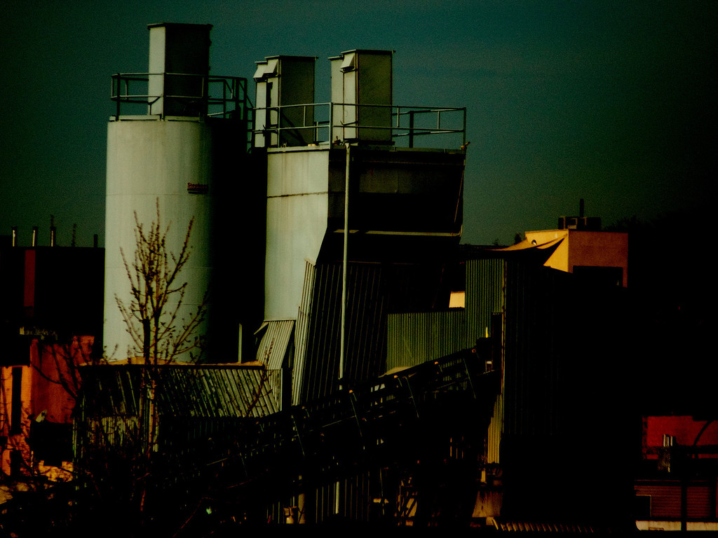 THE CEMENT PLANT AT GOWANUS