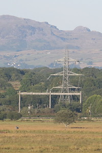 Pylon terminal point (cables run under the estuary)