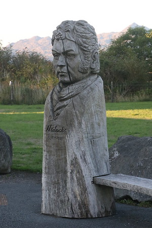 Carving of Williams Madocks