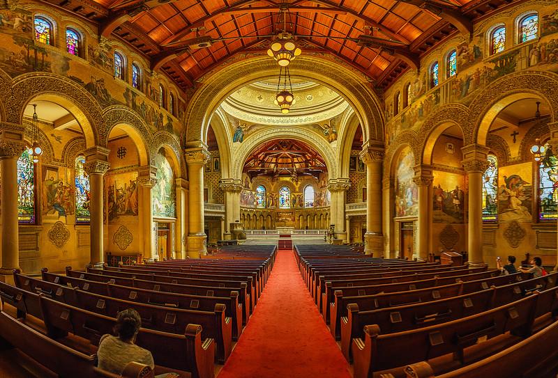 Stanford Memorial Chapel Interior