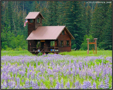 """BILL`S CASTLE"", Farm island, Alaska, USA-----""BILLUV HRAD""."