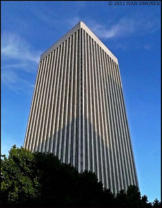 """RAINIER TOWER 1"",514` tall,31 floors,built in 1977,Seattle,Wash.,USA."