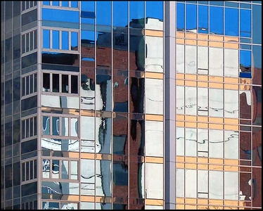 """BUILDING REFLECTION"",Seattle,Wash.,USA."
