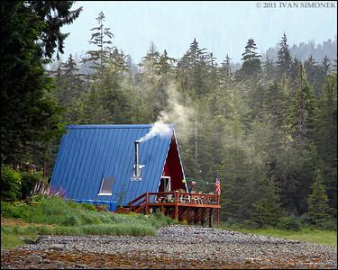 """""""WILDERNESS COMFORT"""",Wrangell Narrows,Alaska,USA."""