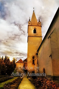 OLD HUNGARIAN CHURCH (CASTLE) IN ROMANIA, TIRGU MURES