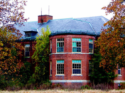 The Lippett Building at the Old Norwich State Hospital grounds as seen in October of 2008.