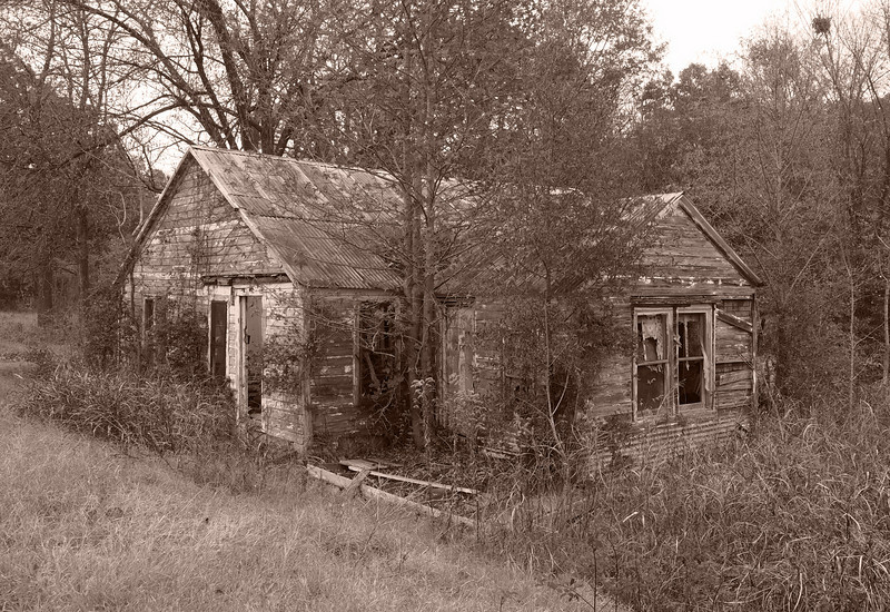 Old House near Sawyer, OK - 20 Nov 2010