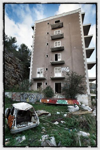 Abandoned hotel in Soller