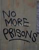 Graffiti on an outbuilding