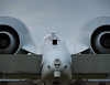 A-10 Warthog tank destroyer.  Aft view.