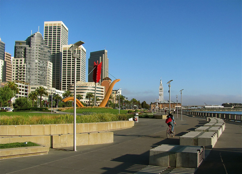 Embarcadero waterfront