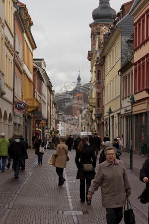 Germany, Heidelburg, Old Town SNM