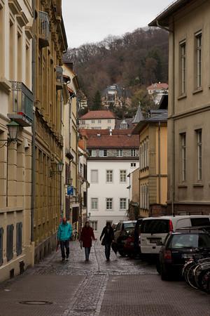 Germany, Heidelburg, Alleyway SNM