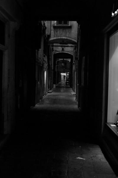 Italy, Venice, Alleyway SNM