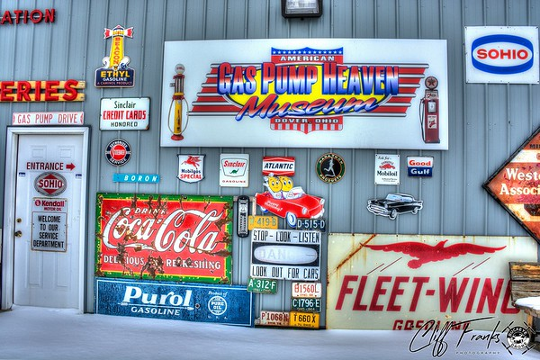 American Gas Pump Heaven Museum Dover, Ohio - Franksusa