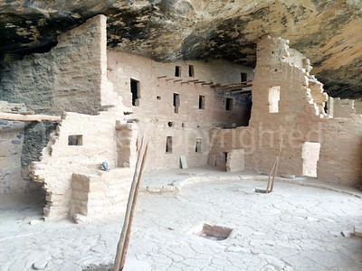 Tree house cliff dwellings