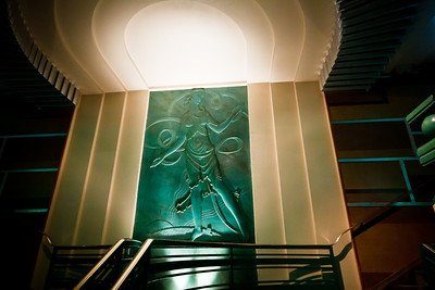 Detail from the foyer