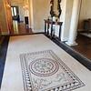 Mosaic tiled foyer floor