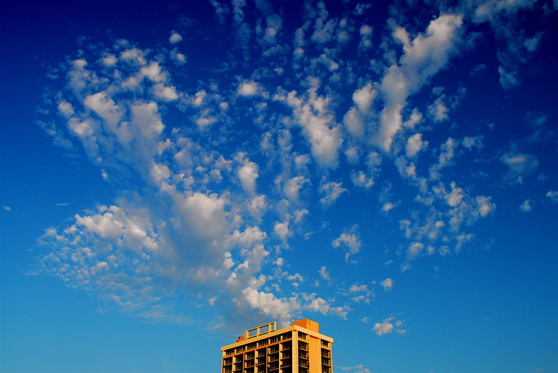 Building & Clouds (by Jon Gorr)