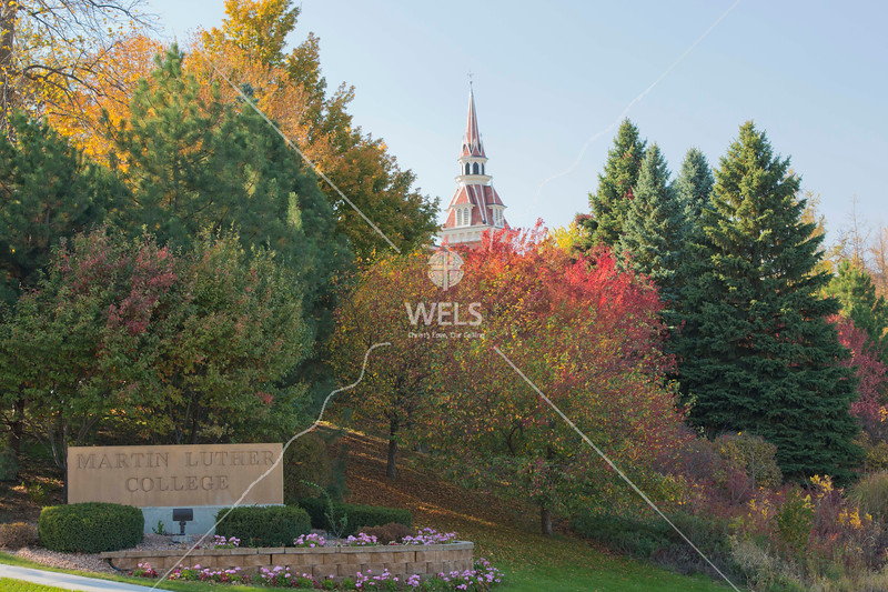 MLC Sign and Autumn Foliage by wpekrul