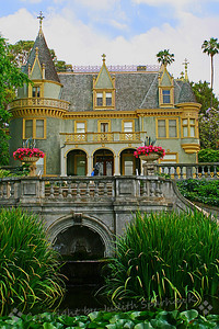 Kimberly Crest ~ One of Redlands' well-known mansions, Redlands, CA