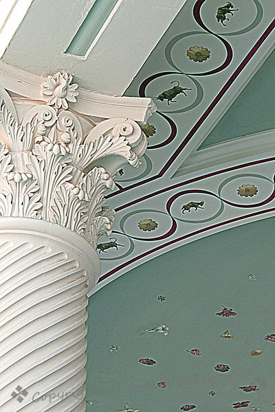 Ceiling and Column Decoration ~