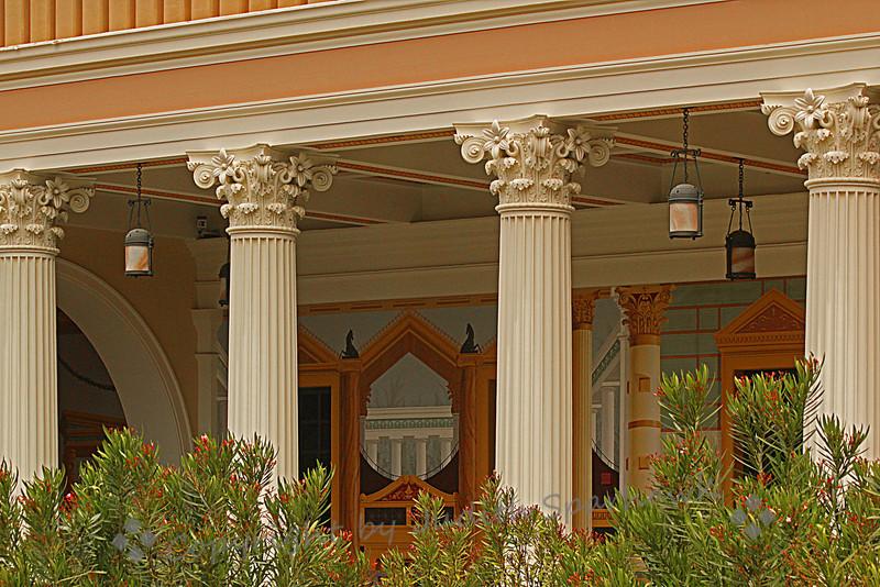 Getty Villa Decorative Walls ~