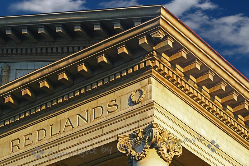 University of Redlands Administration Building Detail