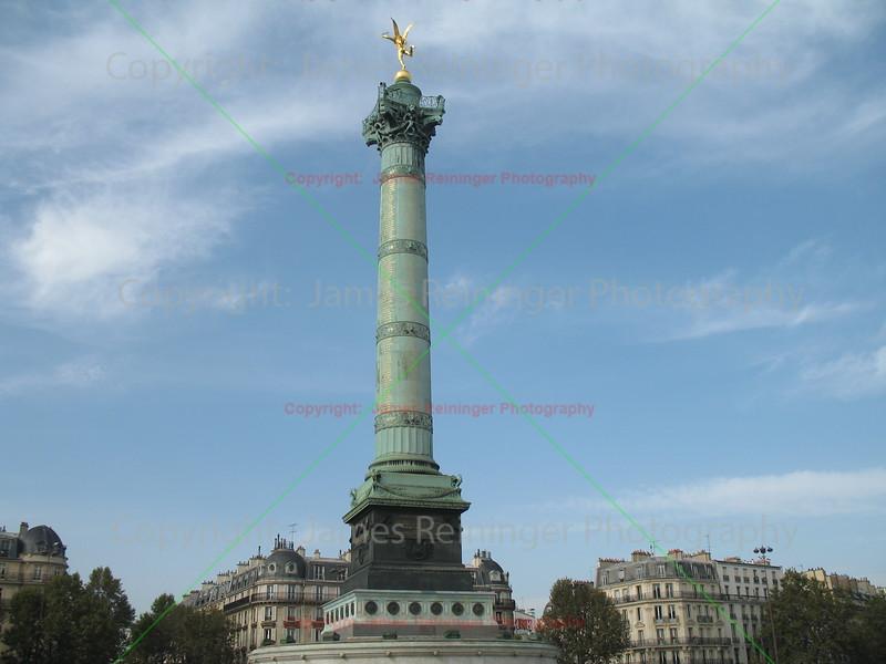 July Column<br /> Place de la Bastille<br /> Paris, France
